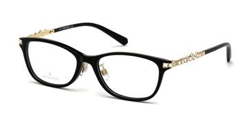 Shiny Black Swarovski SK5356-D Eyeglasses