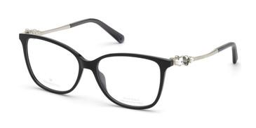 Black/other Swarovski SK5367 Eyeglasses
