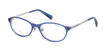 Blue/other Swarovski SK5379-D Eyeglasses