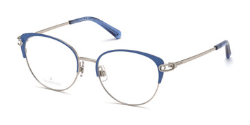 Light Blue/other Swarovski SK5397 Eyeglasses