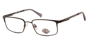 Matte Black HARLEY DAVIDSON HD0142T Eyeglasses.