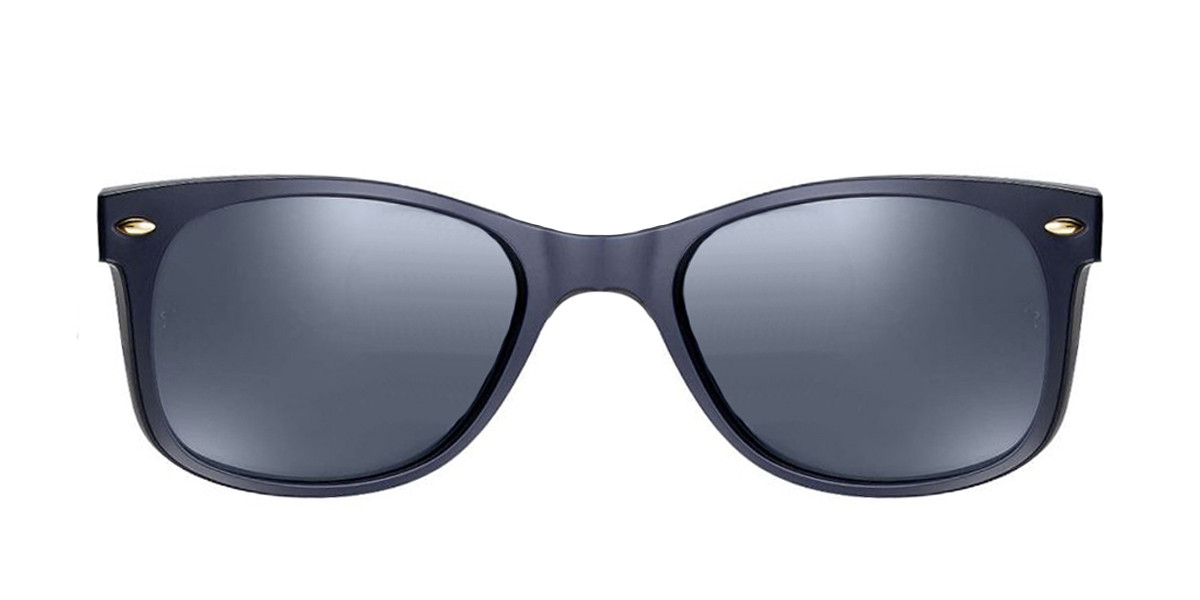 Black 6211R5 RayBan RB2132 New Wayfarer At Collection - Blue Sunglasses