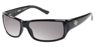 Black/Solid Smoke Lens  HARLEY DAVIDSON HD0860X Sunglasses.