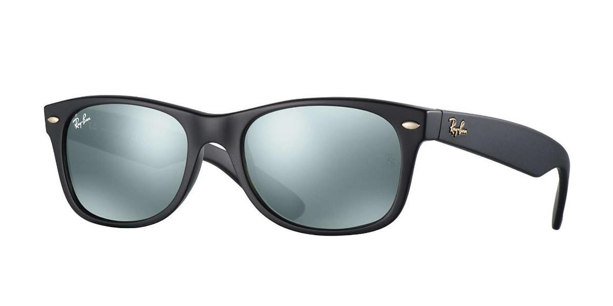 Black 601S40 RayBan RB2132 New Wayfarer At Collection - Black Sunglasses