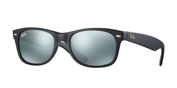 Black 601S40 RayBan RB2132 New Wayfarer At Collection - Black Sunglasses