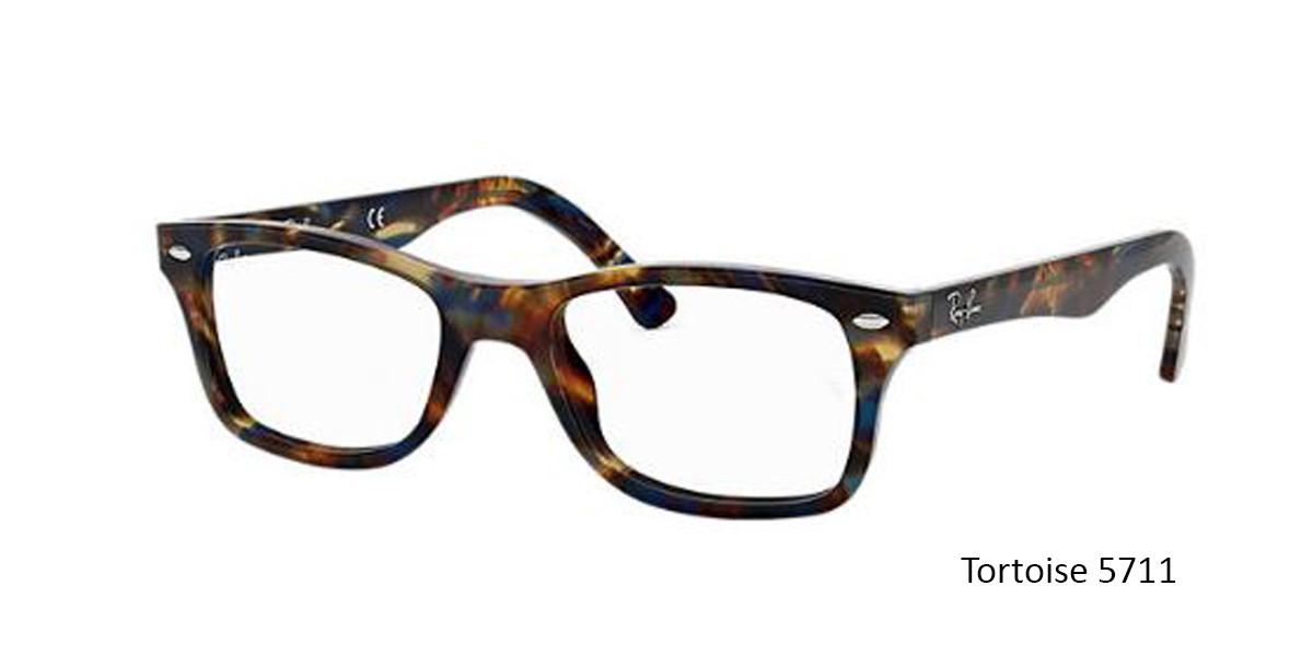Tortoise 5711 RayBan RB5228 Eyeglasses