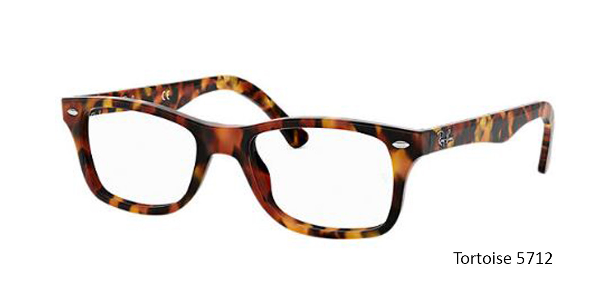 Tortoise 5712 RayBan RB5228 Eyeglasses