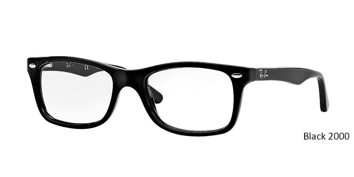 Black 2000 RayBan RB5228 Eyeglasses