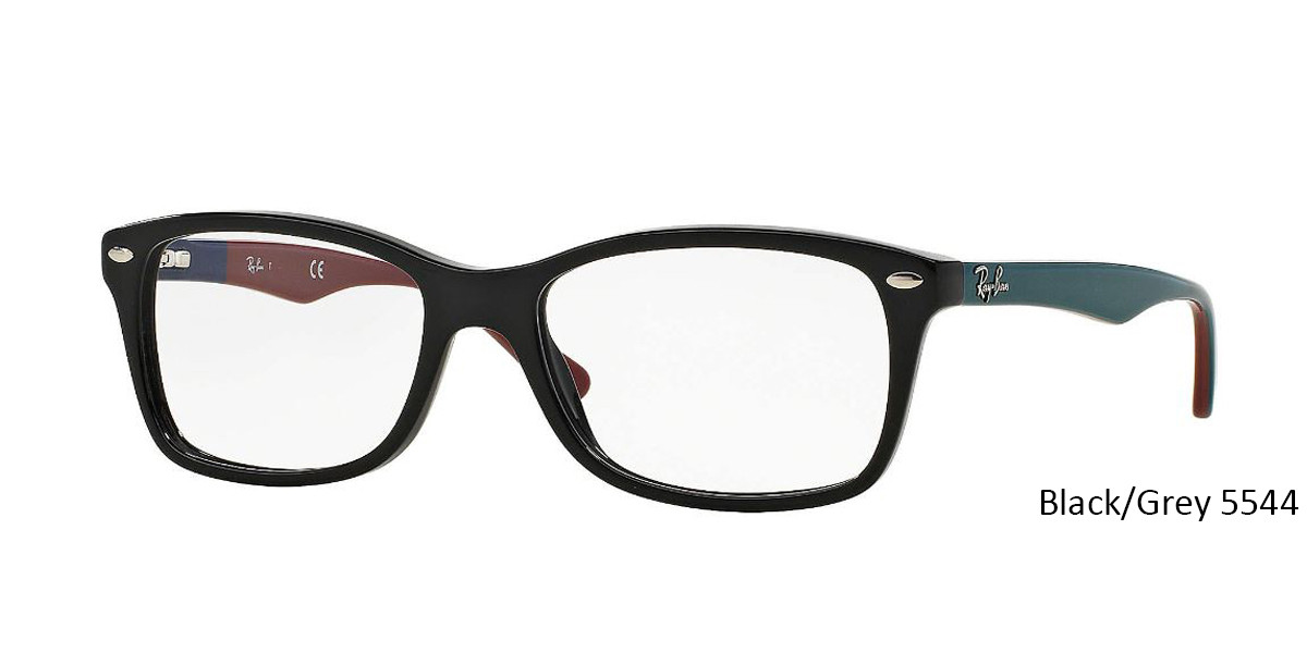 Black/Grey RayBan RB5228 Eyeglasses