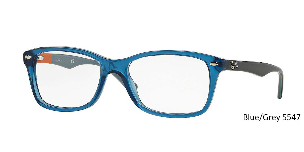 Blue/Grey 5547 RayBan RB5228 Eyeglasses