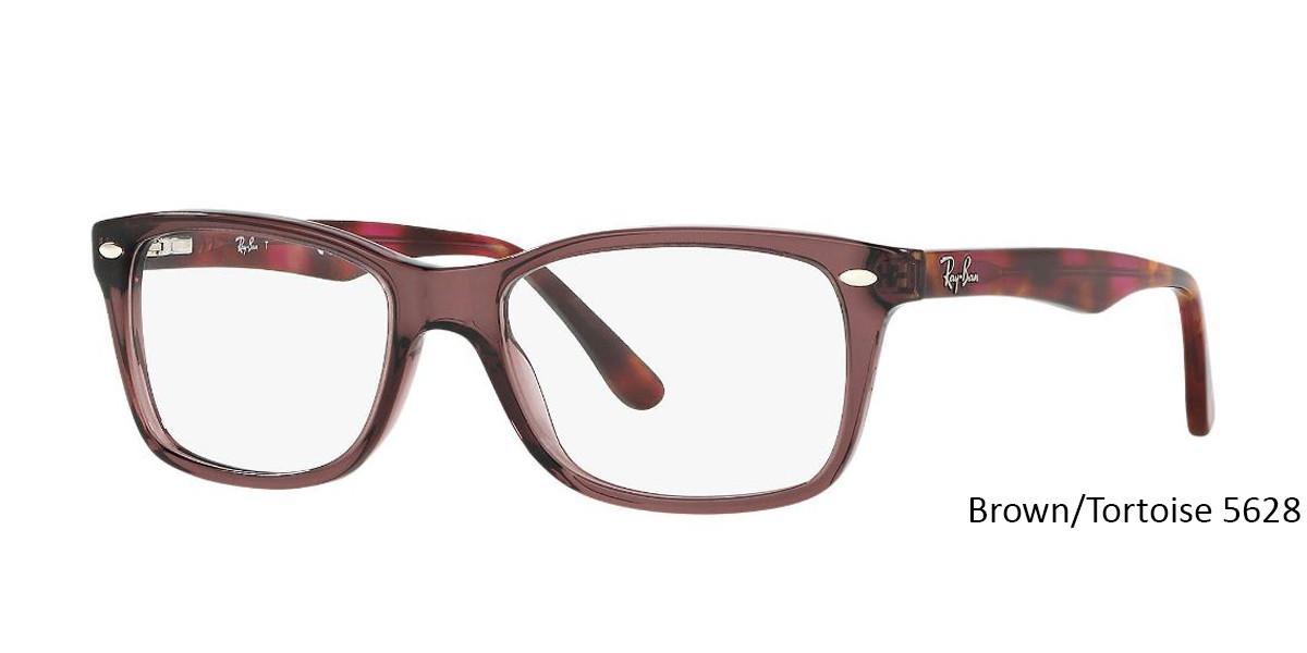 Brown/Tortoise 5628 RayBan RB5228 Eyeglasses