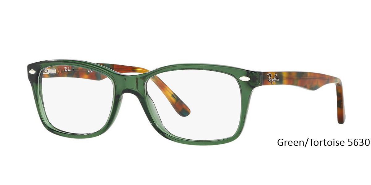 Green/Tortoise 5630 RayBan RB5228 Eyeglasses