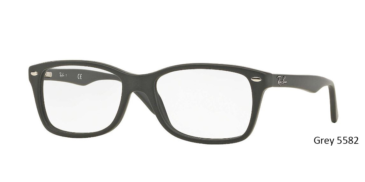 Grey 5582 RayBan RB5228 Eyeglasses