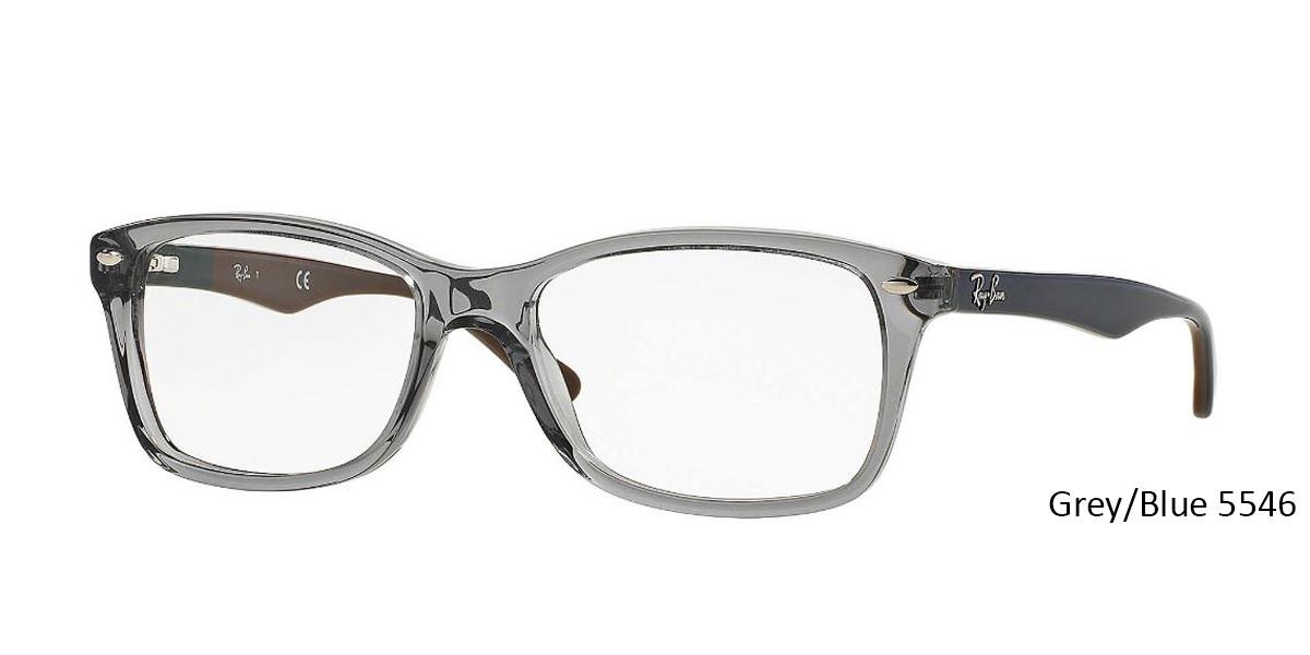 Grey/Blue 5546 RayBan RB5228 Eyeglasses