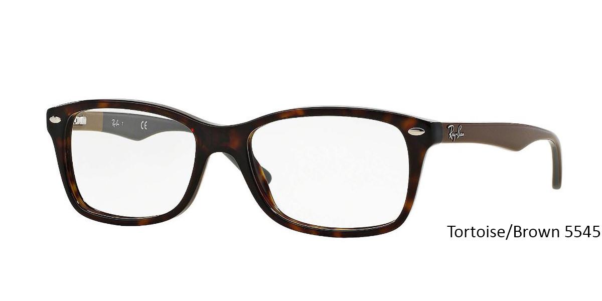 Tortoise/Brown RayBan RB5228 Eyeglasses