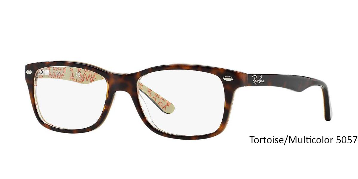 Tortoise/Multicolor 5057 RayBan RB5228 Eyeglasses