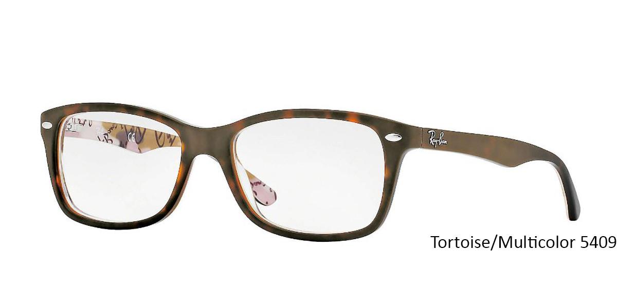Tortoise/Multicolor RayBan RB5228 Eyeglasses