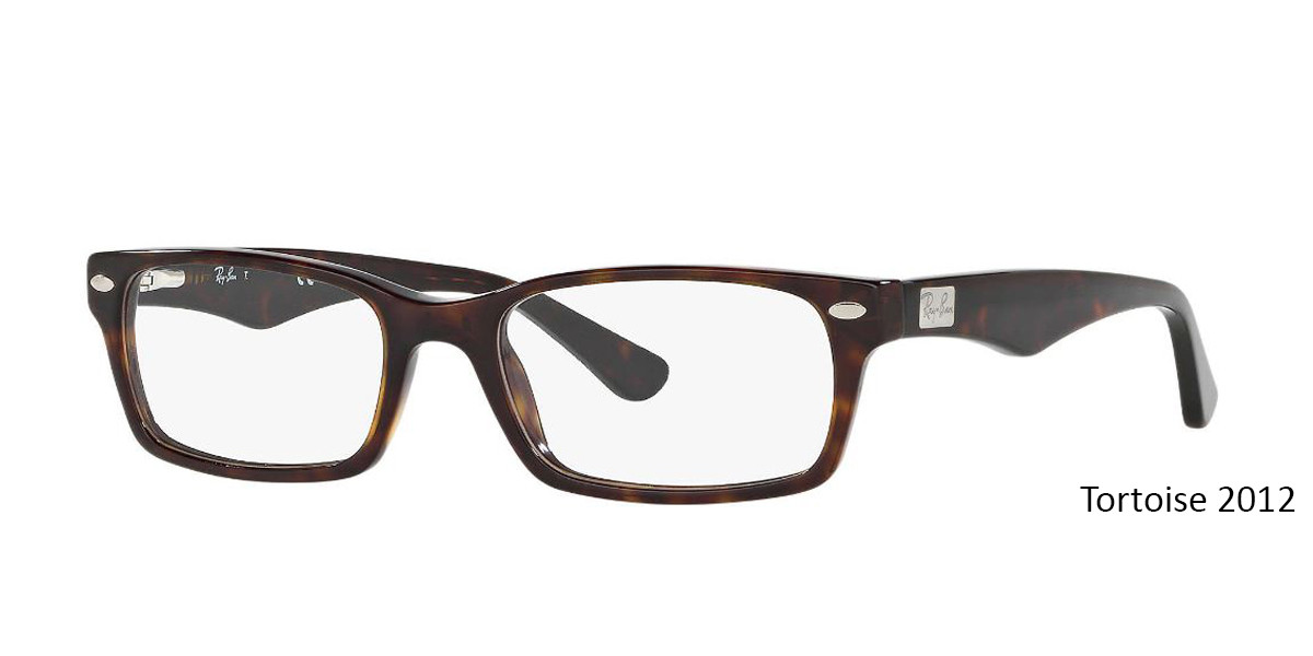 Tortoise 2012 RayBan RB5206 - All Colors Eyeglasses