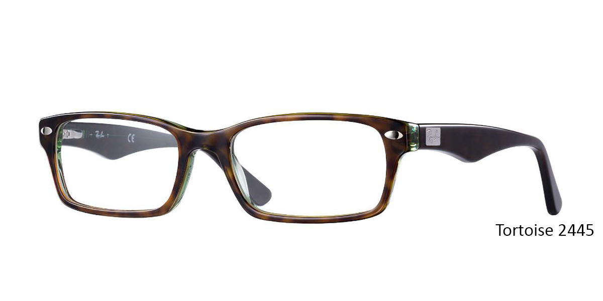 Tortoise 2445 RayBan RB5206 - All Colors Eyeglasses