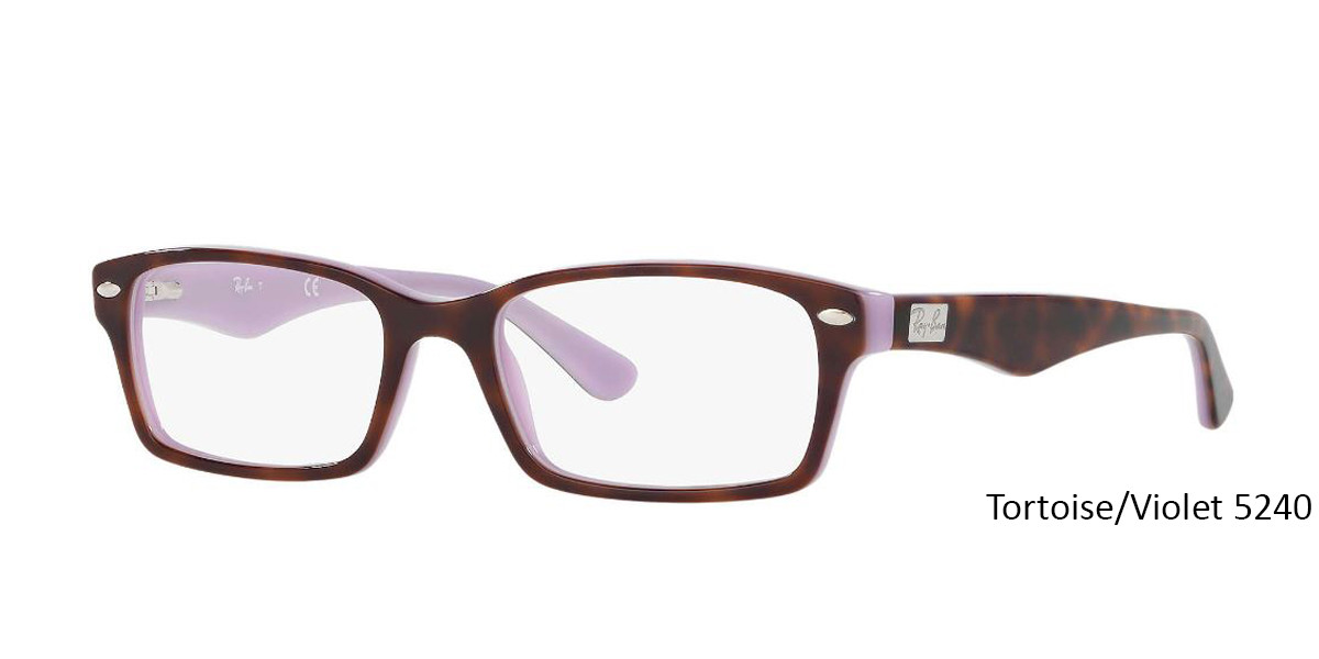 Tortoise/Violet 5240 RayBan RB5206 - All Colors Eyeglasses