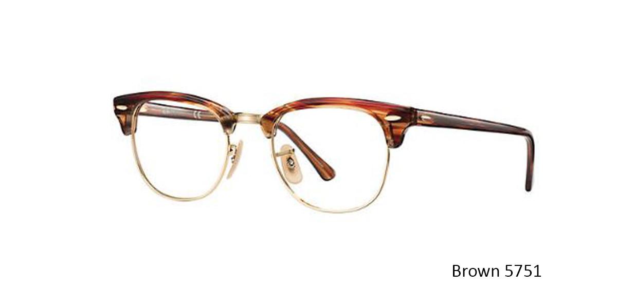 Brown 5751 RayBan RB5154 Eyeglasses