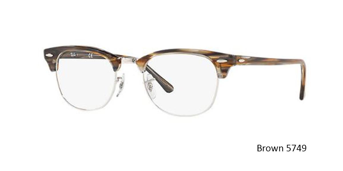 Brown 5749 RayBan RB5154 Eyeglasses