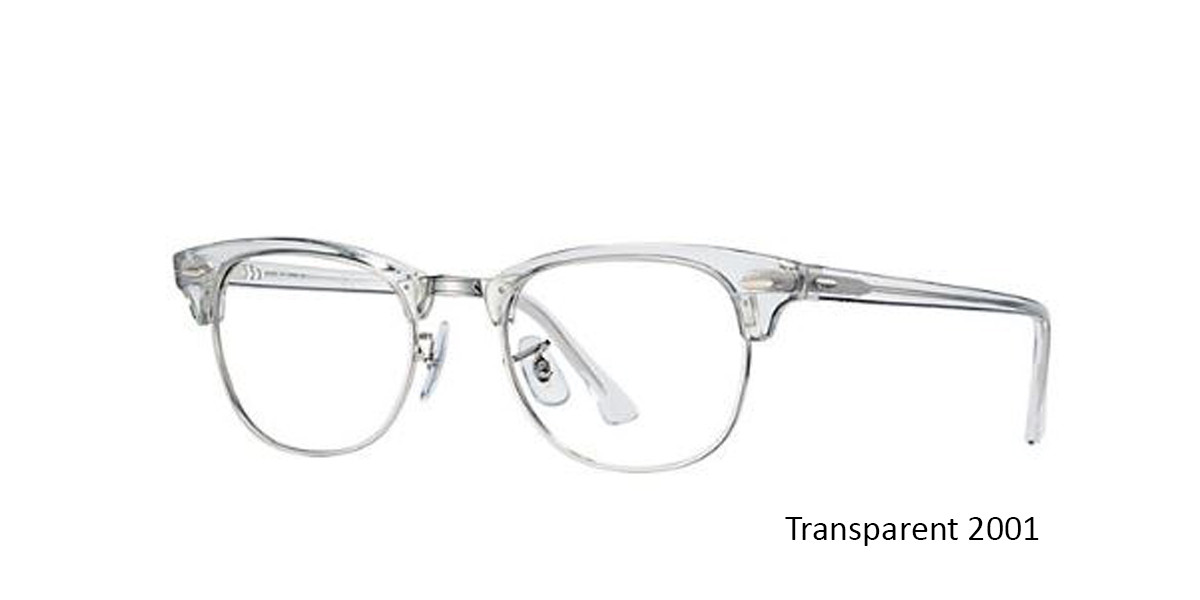 Transparent 2001 RayBan RB5154 Eyeglasses
