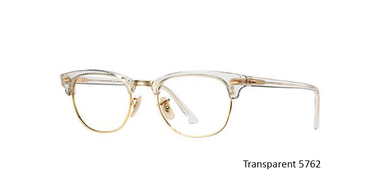 Transparent 5762 RayBan RB5154 Eyeglasses