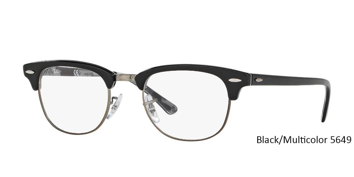 Black/Multicolor RayBan RB5154 Eyeglasses