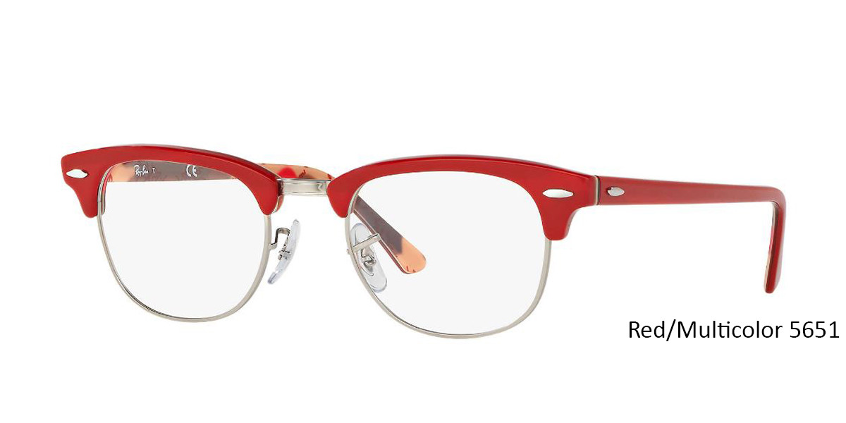 Red/Multicolor RayBan RB5154 Eyeglasses