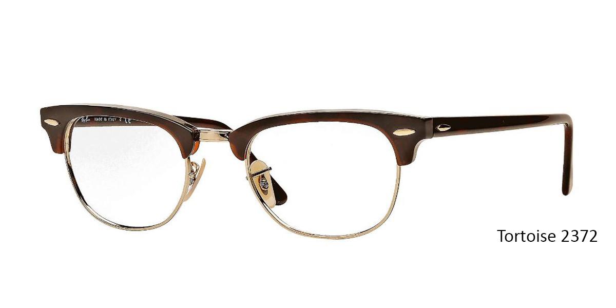 Tortoise 2372 RayBan RB5154 Eyeglasses