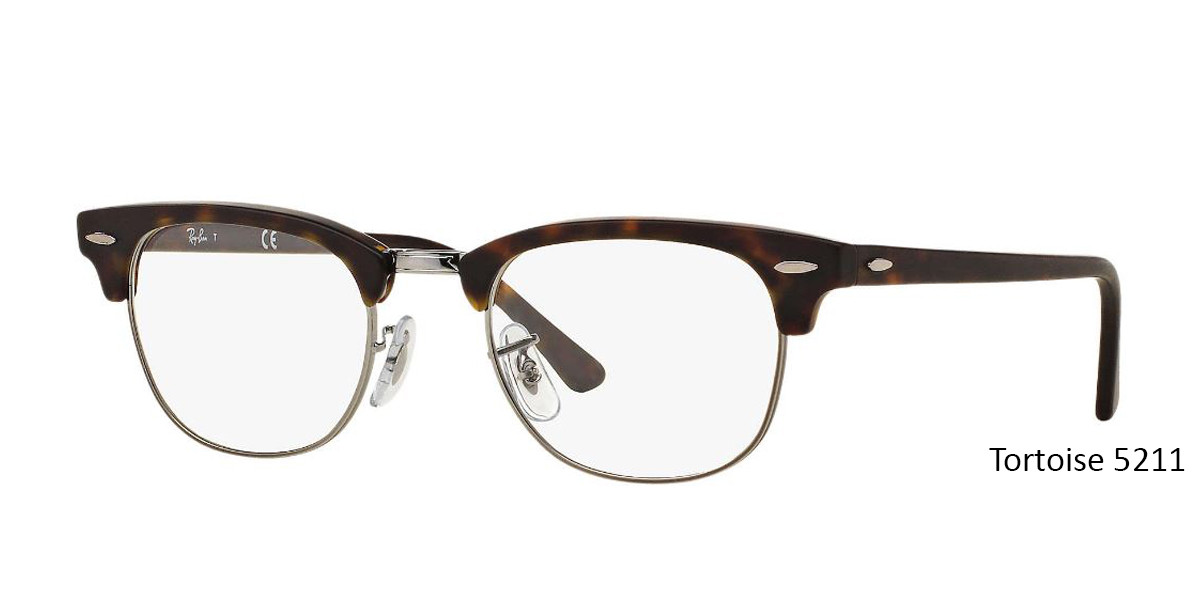 Tortoise 5211 RayBan RB5154 Eyeglasses