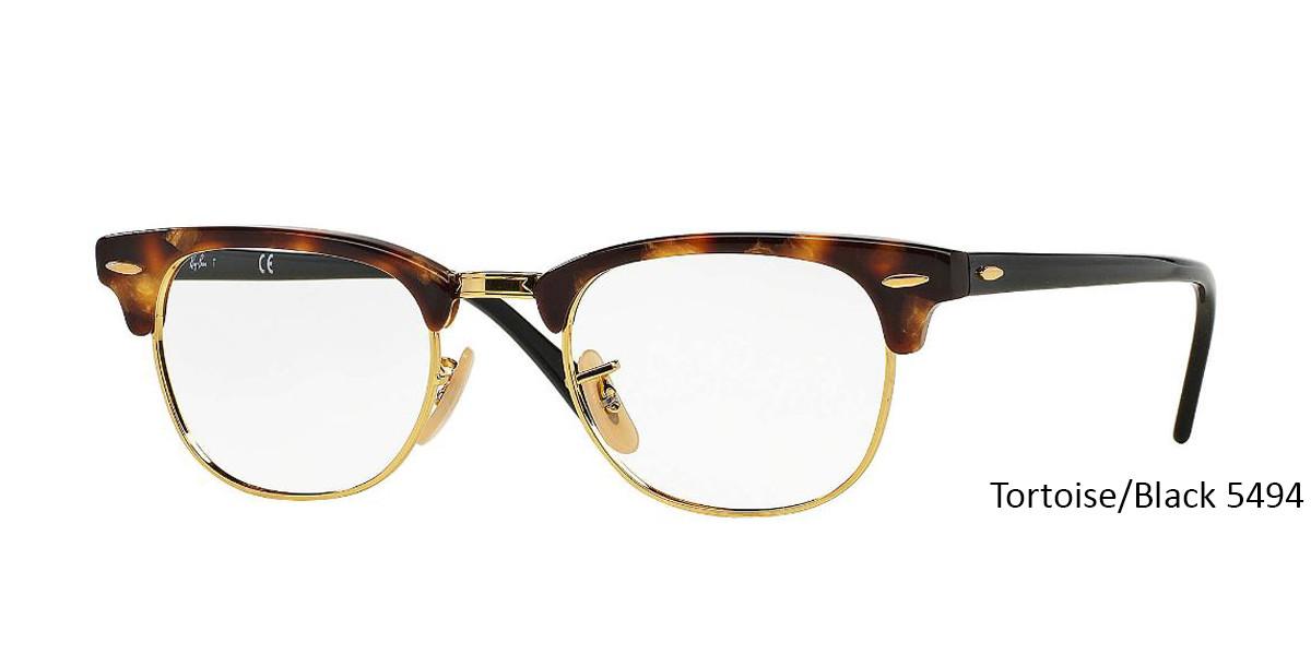 Tortoise/Black 5494 RayBan RB5154 Eyeglasses
