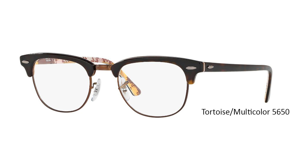 Tortoise/Multicolor 5650 RayBan RB5154 Eyeglasses