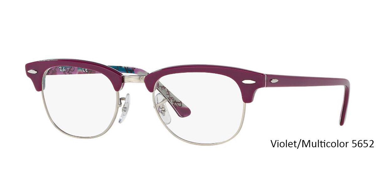 Violet/Multicolor 5652 RayBan RB5154 Eyeglasses