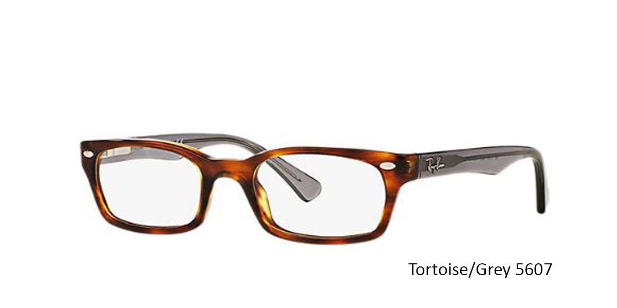 Tortoise/Grey 5607 RayBan RB5150 Eyeglasses - Teenager