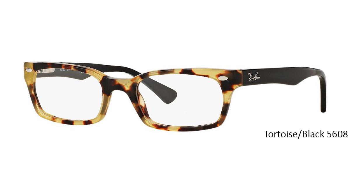 304760b152 ... Tortoise Black 5608 RayBan RB5150 Eyeglasses - Teenager ...