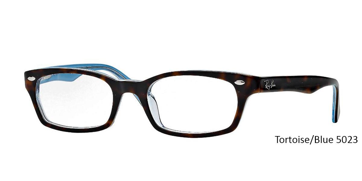 9f72cd44b5 ... Tortoise Blue 5023 RayBan RB5150 Eyeglasses - Teenager ...