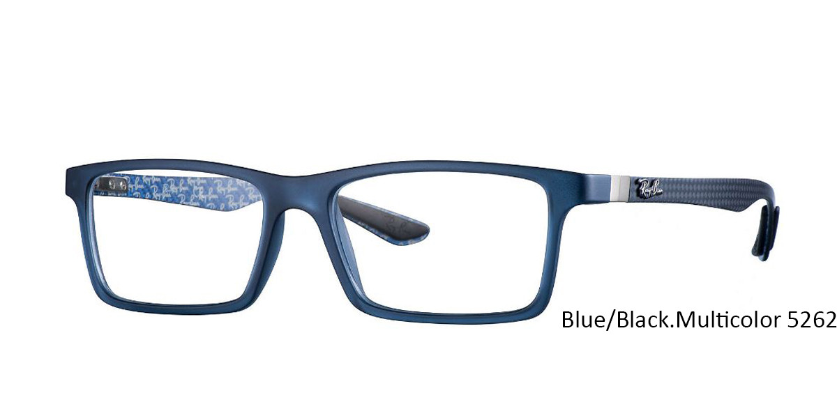 Blue/Black Multicolor 5262 RayBan RB8901 Eyeglasses