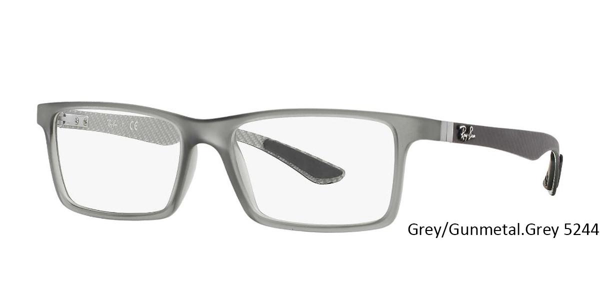 Grey/Gunmetal Grey 5244 RayBan RB8901 Eyeglasses