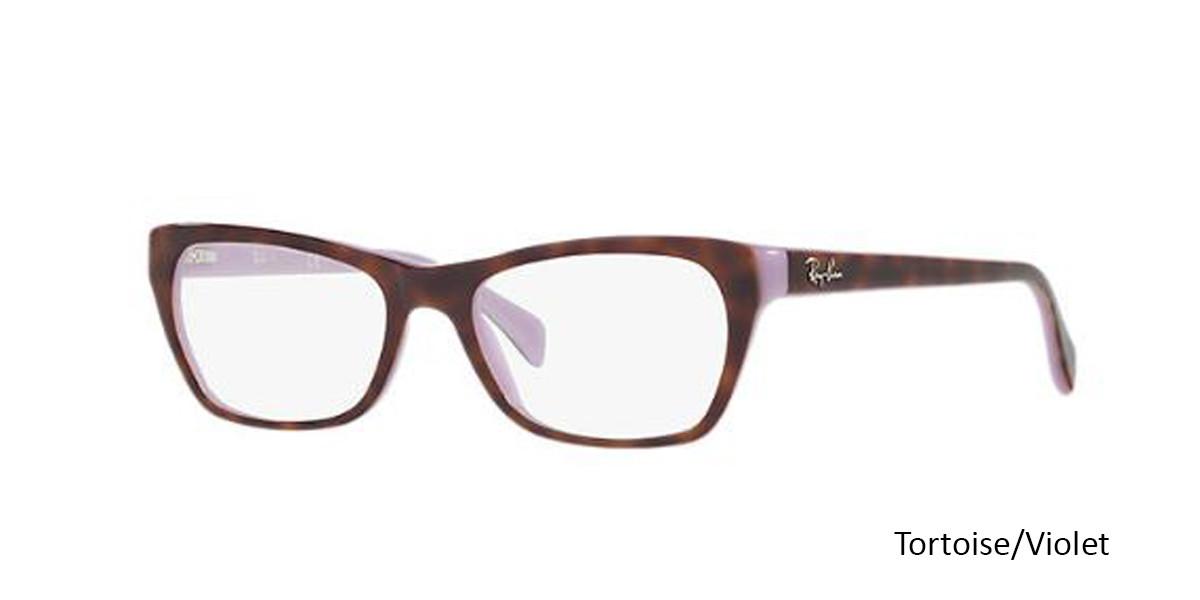 Tortoise/Violet 5240 RayBan RB5298 Eyeglasses