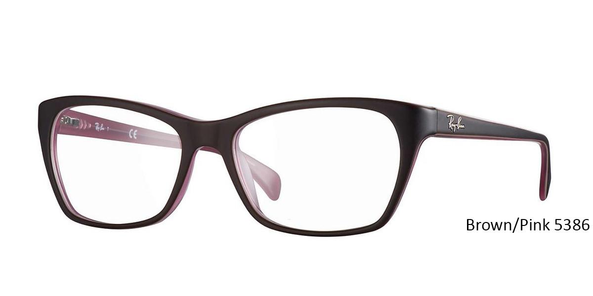 Brown/Pink 5386 RayBan RB5298 Eyeglasses