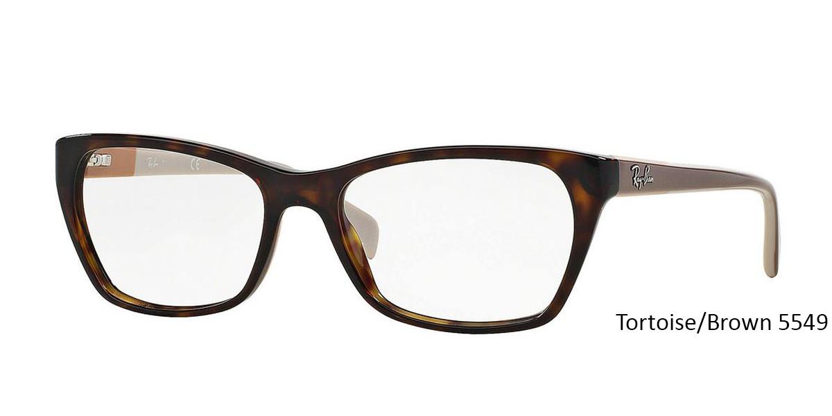 Tortoise/Brown 5549 RayBan RB5298 Eyeglasses