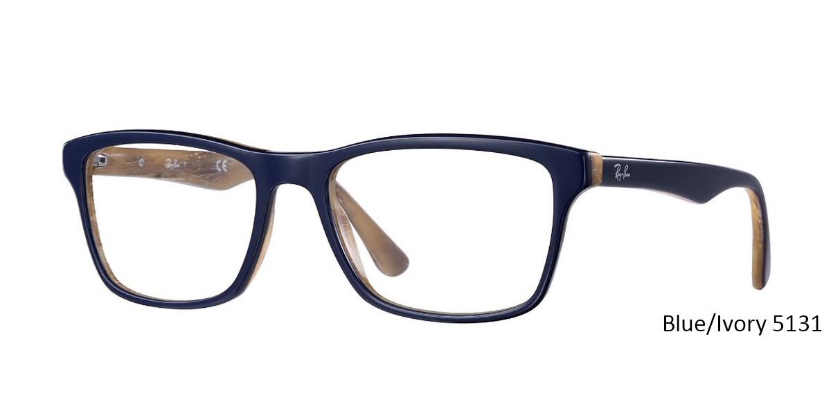 Blue/Ivory 5131 RayBan RB5279 Eyeglasses