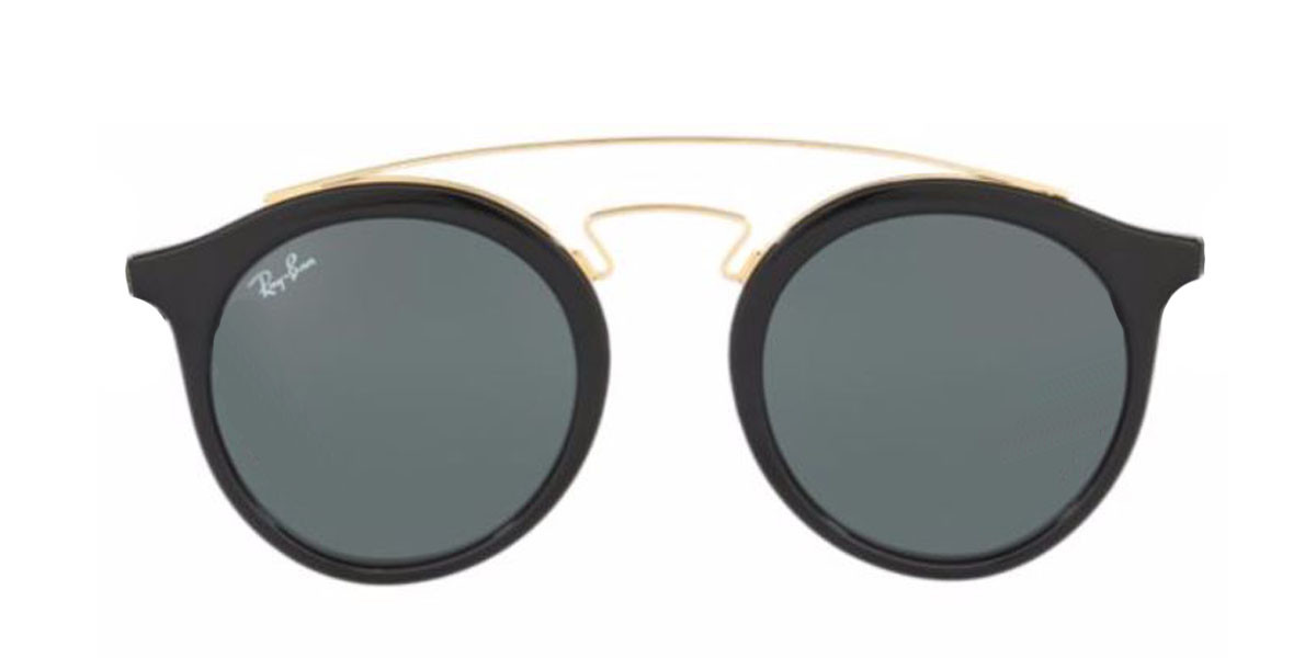 Black/Gold.Black RayBan GATSBY I RB4256 - Black Sunglasses