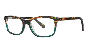 Tortoise/Green Vivid Splash 63 Eyeglasses