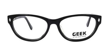 Black, GEEK CAT 02 Eyeglasses