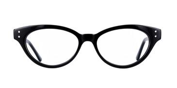 Black, GEEK CAT 03 Eyeglasses - Teenager