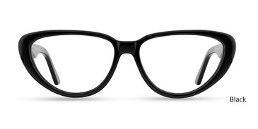 Black GEEK CAT 06 Eyeglasses