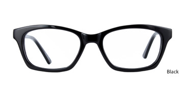 Black GEEK 115 Eyeglasses - Teenager